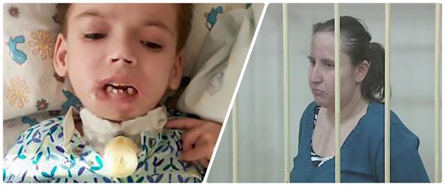 Koszmar. Matka odgryzła swojej 6. letniej córeczce wargę, bo dziewczynka płakała. Rok później dziecko zmarło