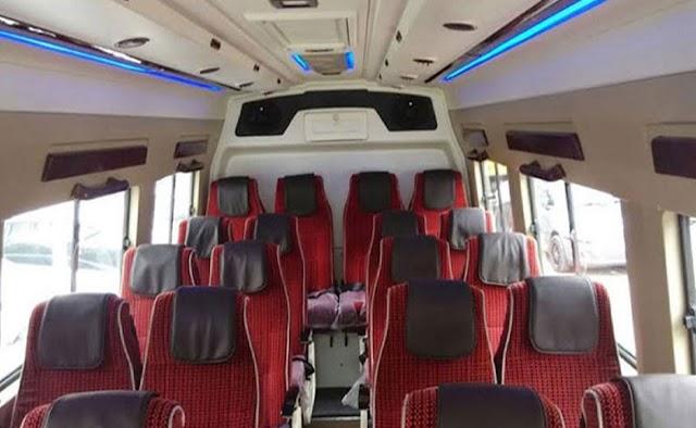 20 Seater Tempo Traveller hire in Delhi