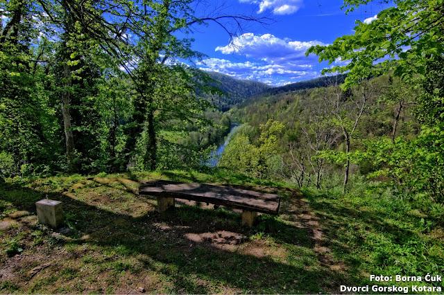 Pogled na rijeku Kupu kod dvorca Severin na Kupi (c) Borna Ćuk