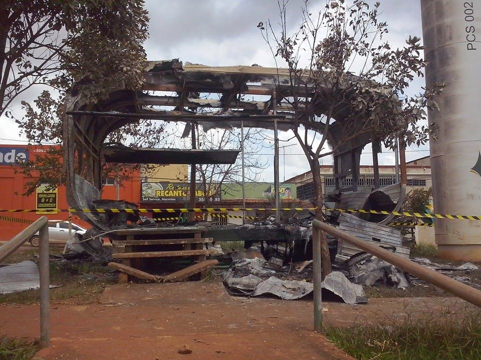 Posto da PM do Campo Central é incendiado pela 2ª vez