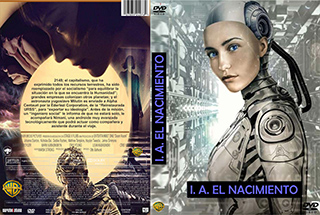 A.I. Rising - A.I. El Nacimiento - Cover - DVD