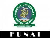 Federal University Ndufu-Alike Ikwo Notice to New Student on Hiring of Gowns