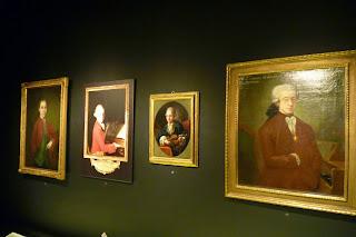 Interior de la Residencia de Mozart.