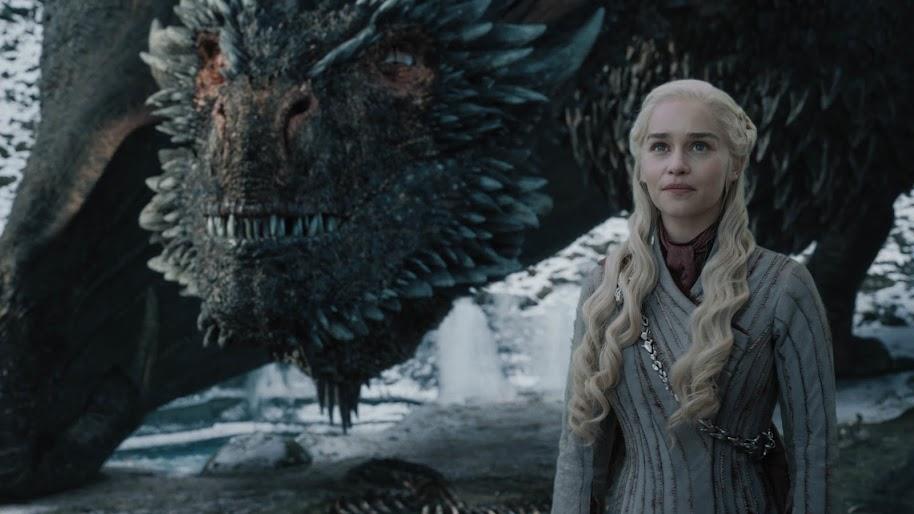 Daenerys Targaryen, Dragon, Game of Thrones, 4K, #69