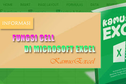 Rumus CELL (Fungsi CELL) di Microsoft Excel