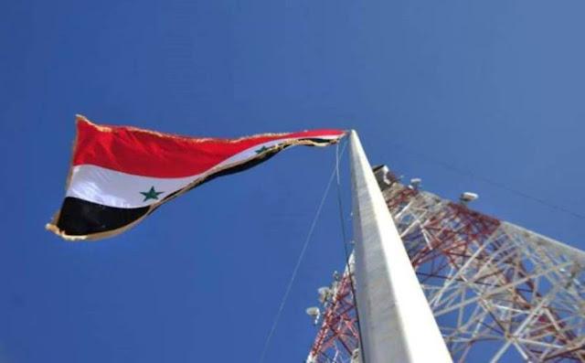 مدينة درعا بالكامل في عهدة الجيش السوري ورفع العلم الوطني في الساحة العامة.(فيديو)