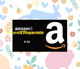 Logo A Pasqua conta le Uova e vinci un buono Amazon da 50 euro