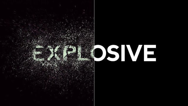 Create an Exploding Text Effect in Photoshop Thumbnail