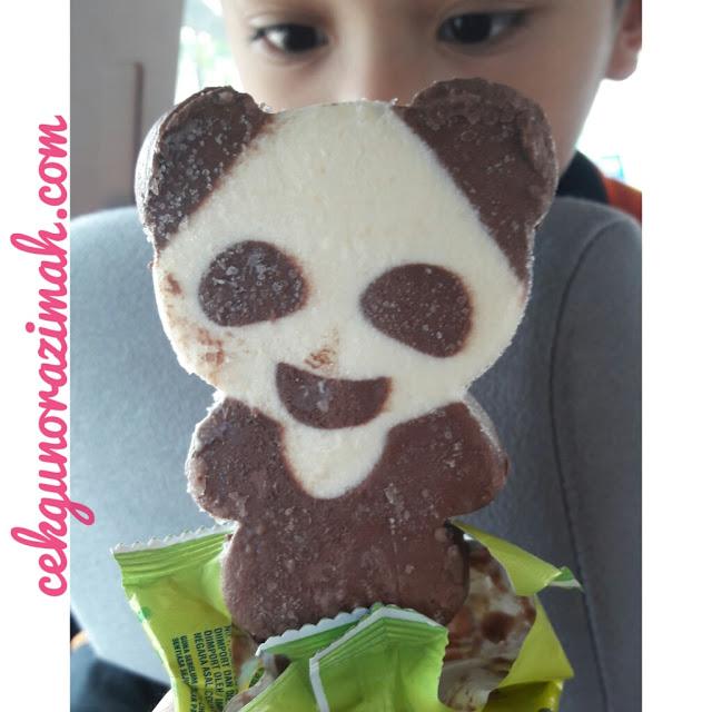 irfan hensem, aiskrim panda, aiskrim nestle, aiskrim coklat
