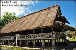 Desain Bentuk Rumah Adat Maluku dan Penjelasannya, Ambon, Indonesia