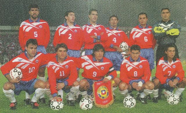 Formación de Chile ante Venezuela, Clasificatorias Francia 1998, 29 de abril de 1997