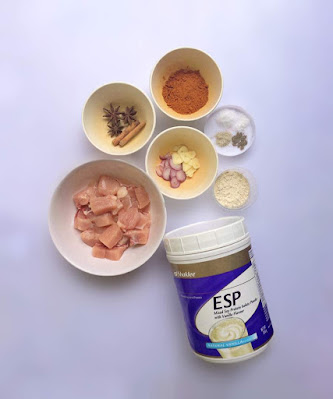 Resepi Kari Ayam Mudah Dengan ESP Shaklee   Winichelen Wongkin