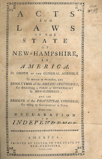 """A title page for """"Acts and Laws."""""""