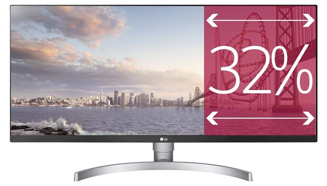 LG 34WK650-W: monitor ultrapanorámico de 34'' con resolución Full HD+