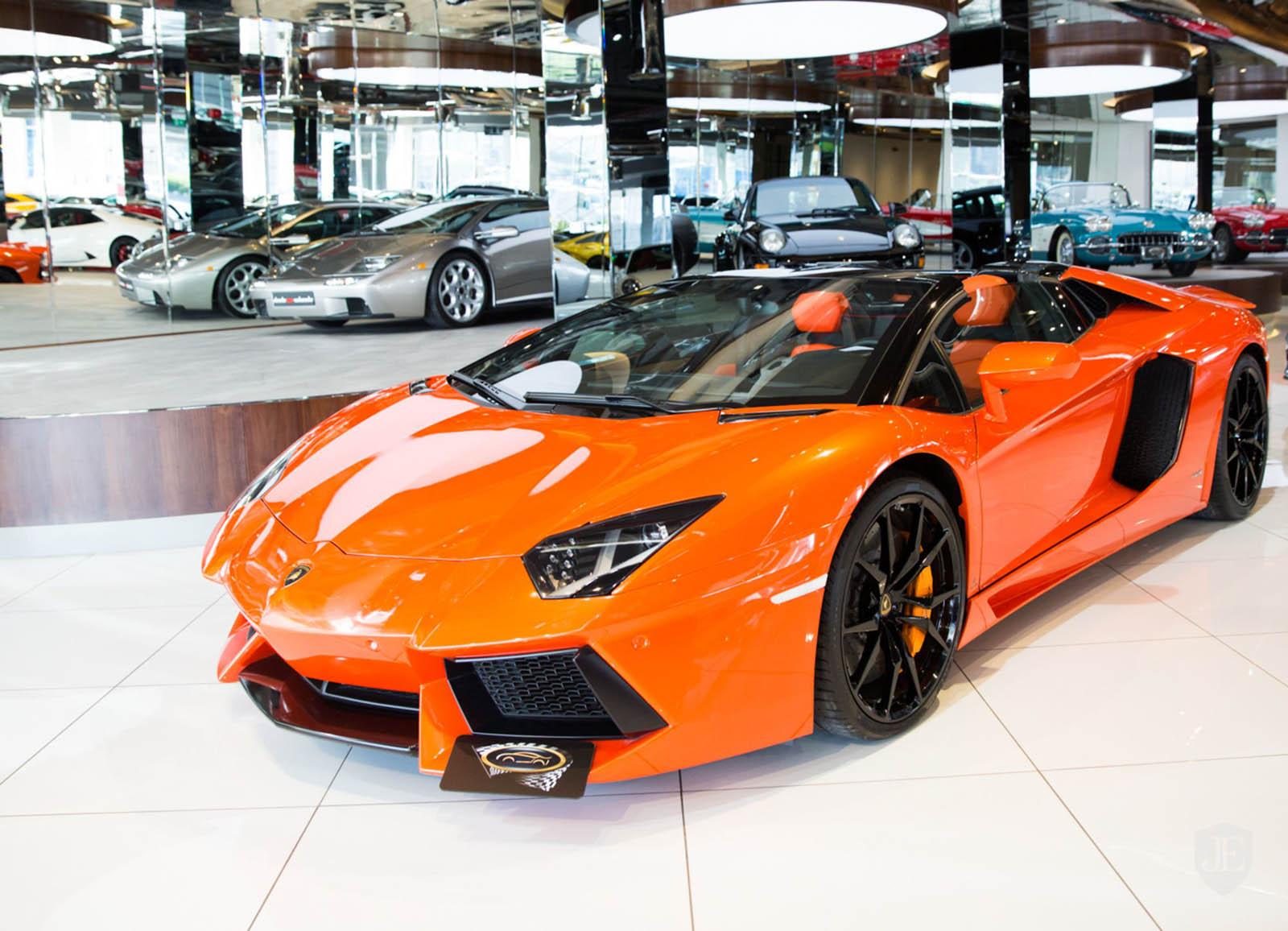 Lamborghini Aventador In Pepto Pink Over Orange Has Got To