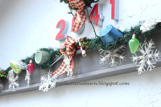 Eclectic Red Barn: Gum Drop Candies and candy canes