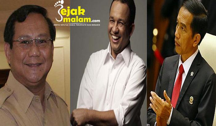 Pilpres 2019, Jokowi mudah kalahkan Prabowo tapi sulit lawan Anies