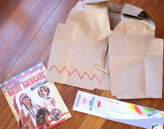 How To Make Native American Vest Craft For Kids School Time Snippets