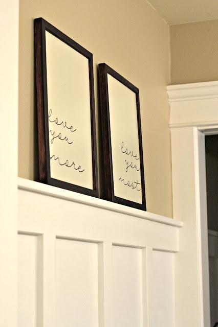 wood frame, farmhouse, diy, silhouette cameo, vinyl project