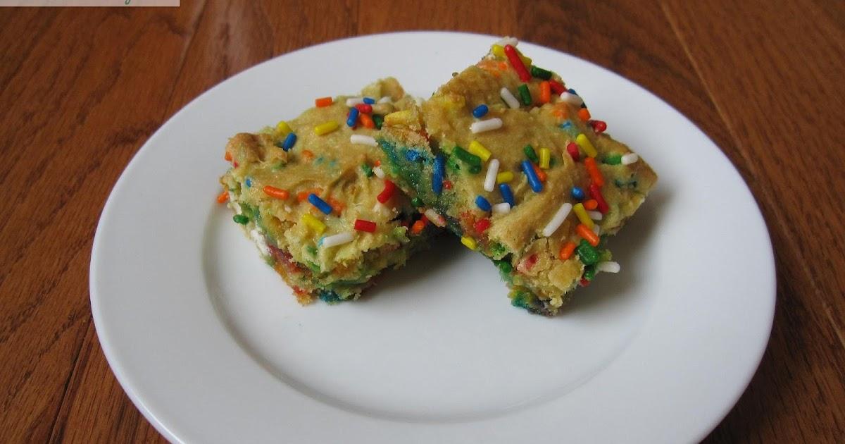 Funfetti Cake Mix Nutriton