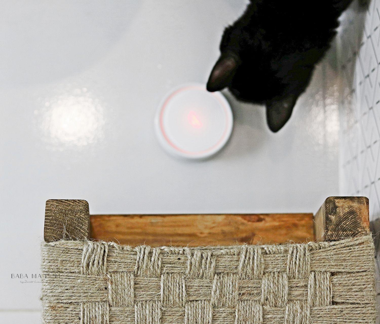 DIY, doityourself, featured, majsterkowanie, projekt, zrób to sam, aranżacje wnętrz, łazienka, drewno, sznurek, juta, dąb, grohe, babamadom,