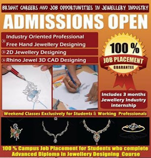 Creative Jobs Career Jewelry Designing Courses Classes | CHENNAI