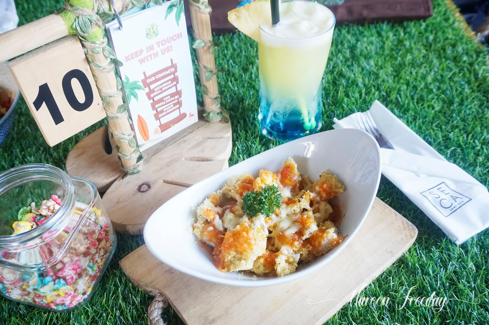 Chicken Crispy Seca Cafe Bandung