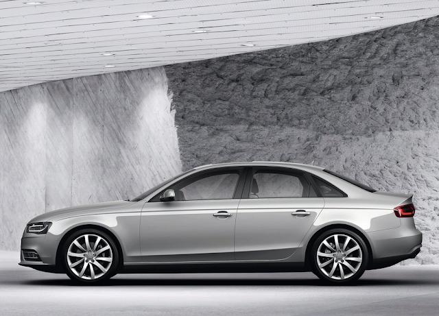 2014 Audi A4 sedan silver