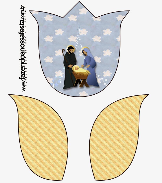 For making Tulip Cards, will look this way: