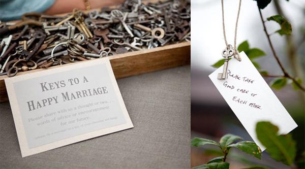 Simply Perfect Weddings Blog  Pittsburgh Wedding Inspiration for the Modern Bride Skeleton Key