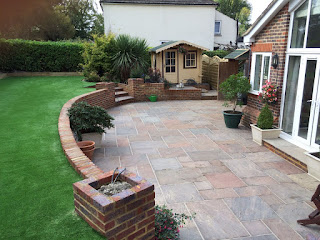 Patio installation Ashtead Surrey
