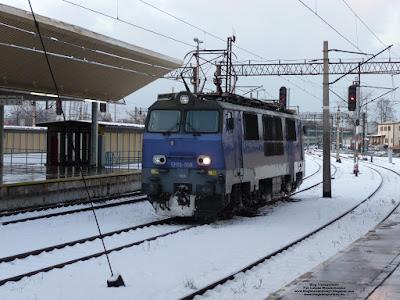 Lokomotywa EP09-008, PKP Intercity, Kraków Główny