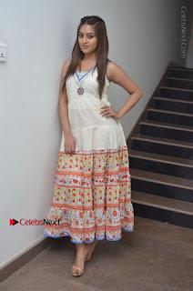 Telugu Actress Anu Emmanuel New Stills in Beautiful White Long Dress  0102.JPG