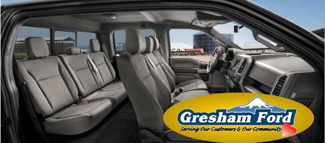 2017 F150 Crew Cab Interior for sale at Gresham Ford