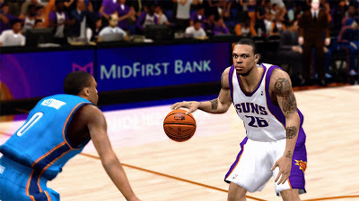 NBA 2K13 Shannon Brown Cyberface Patch