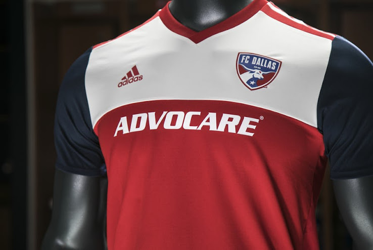 f22fdfd43 FC Dallas 2018 Home Kit Released - Footy Headlines