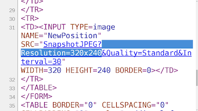 Recommend using validation -a 'Resolution=' All webcam should set a resolution and not necessarily a title.. This parameter will enter into the URL and validate if there is the desired string.