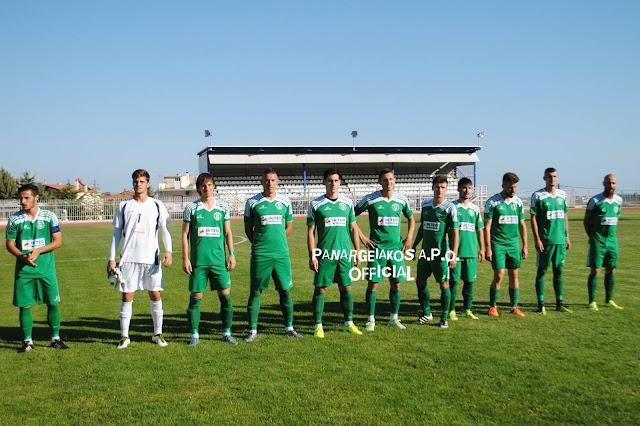 """2-1 ο Παναργειακός """"φιλικά'  τον Πέλοπα Κιάτου"""