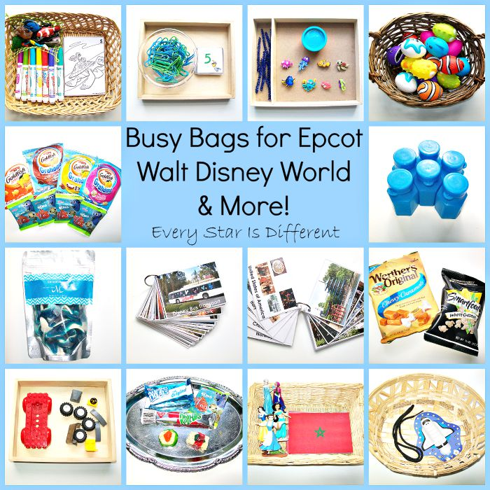 Busy Bags for Epcot