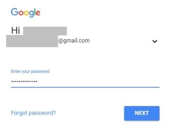 Masukkan Email dan Password