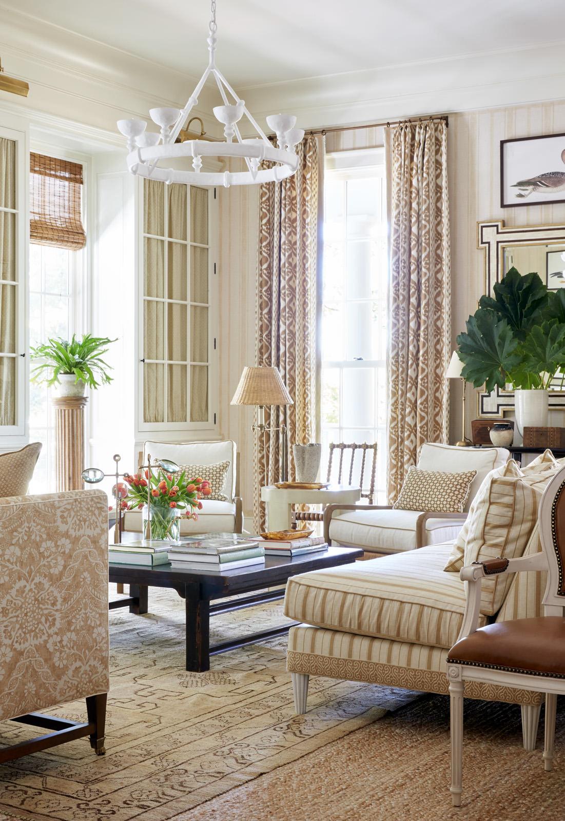 Color outside the lines inspiration vs copycatting - Living room vs family room ...