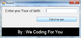 Calculate Age Source Code