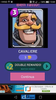 Indovina la carta Royale soluzione livello 32