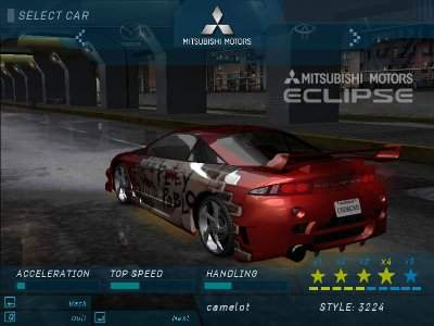 Need for speed: underground download (2003 simulation game).