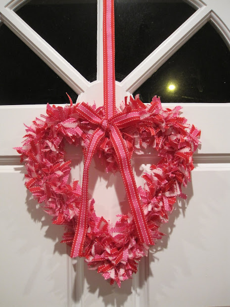 Cali-cove Heart Shaped Ribbon Wreath