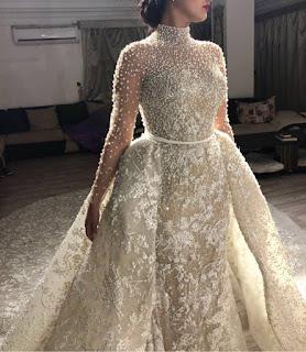 مجموعة من افخم فساتين زفاف سامو هجرس