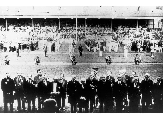 Jocs Olímpics Anvers 1920, pierre de coubertin