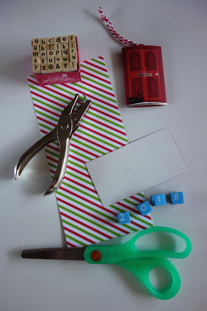 blah to TADA!, crafty recycling, how to recycle used gift wrap,