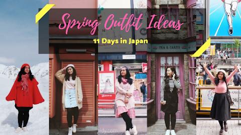 Ide Travel Outfit selama Spring Trip ke Jepang yang Bisa Kamu Sontek