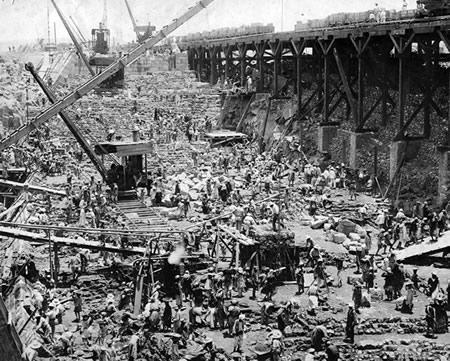 building the aswan dam